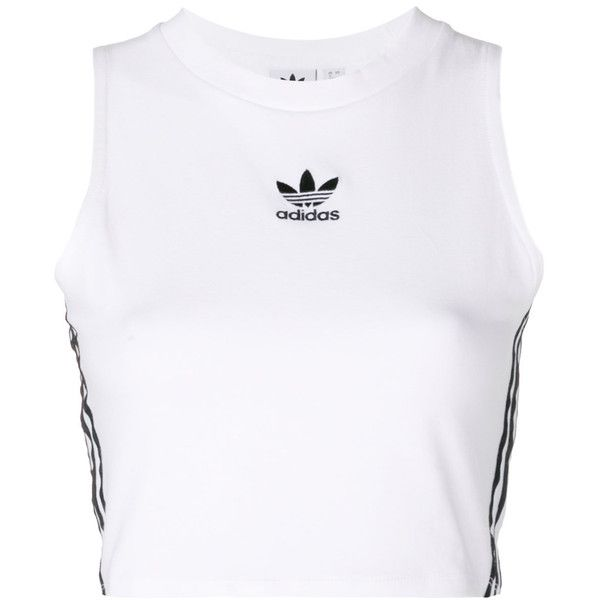 47a74a7cb4b2 Adidas cropped tank top ( 34) ❤ liked on Polyvore featuring tops ...