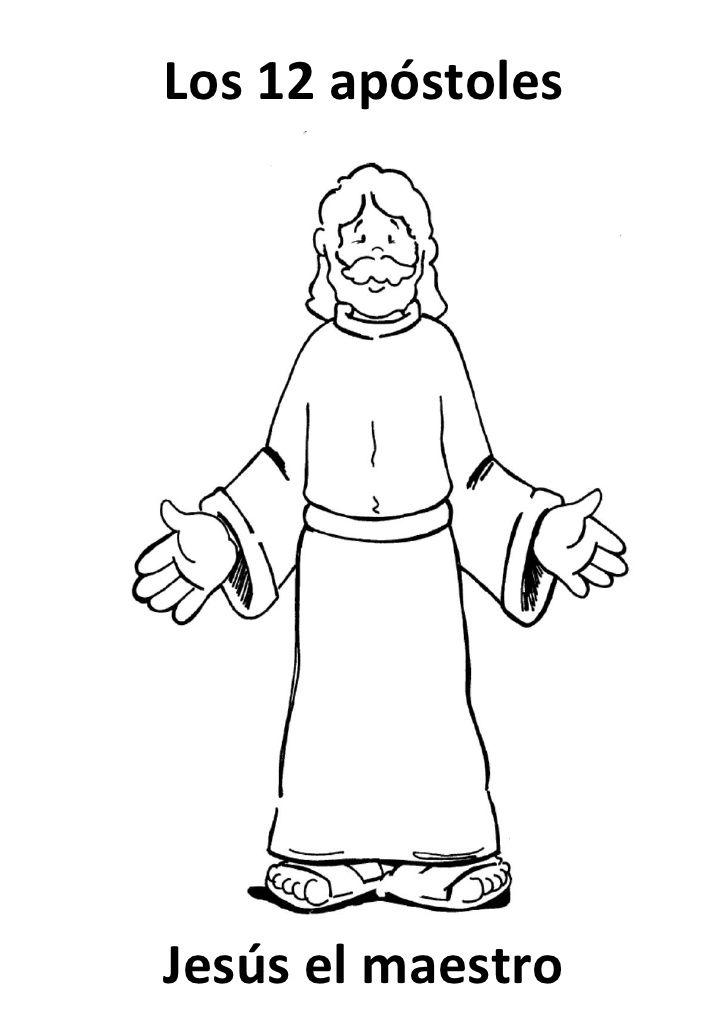 Los 12 apóstoles     Jesús el maestro