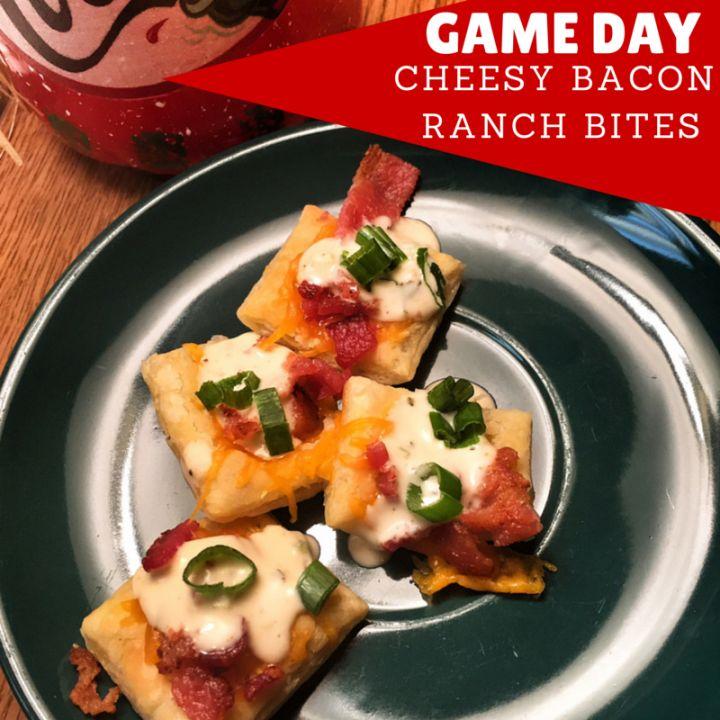 Game Day: Cheesy Bacon Ranch Bites #NaturallyFresh