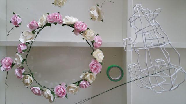 Ma couronne de fleurs. DIY