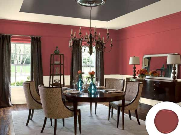 Color Of The Year 2015 Marsala Neutral Dining RoomsDining Room