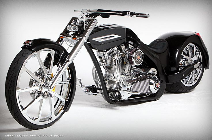 Cadillac Bike by Paul Teutul Jr. and Paul Jr Designs