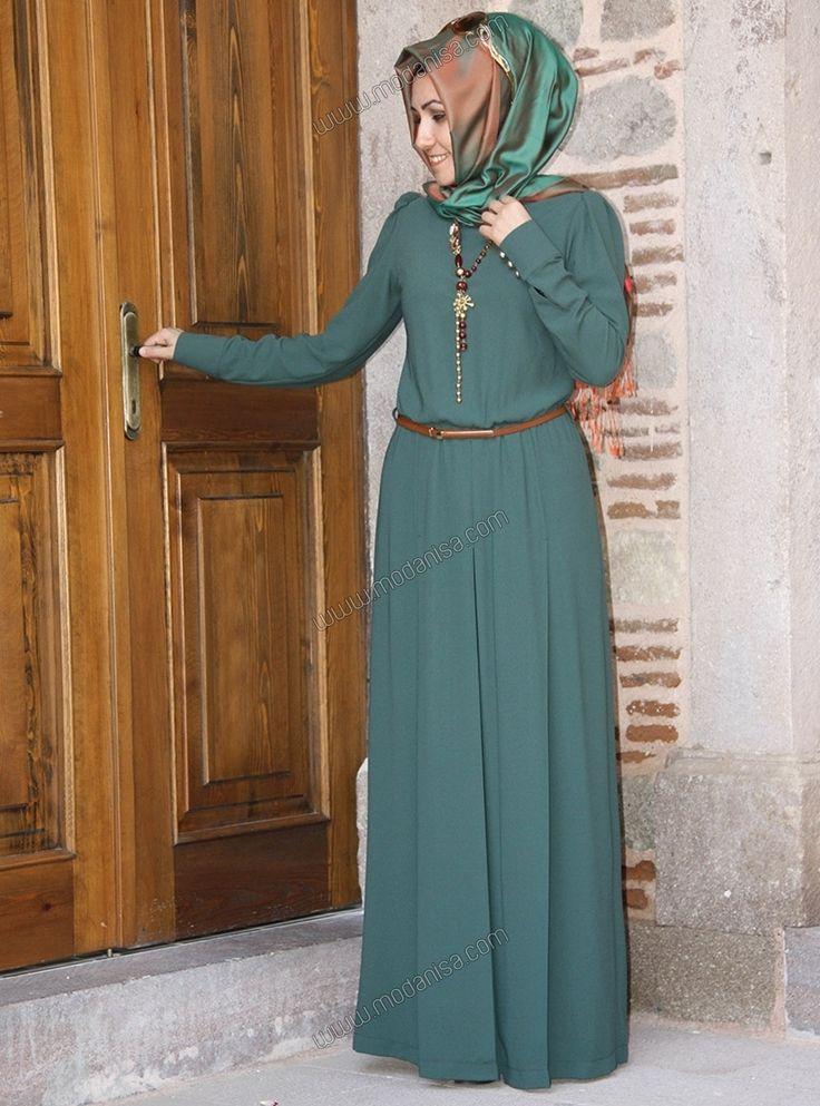 Kemerli Tulum - Yeşil - Pınar Şems