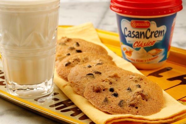 Receta Galletitas con chips de chocolate de Casancrem