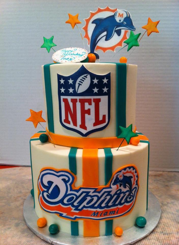 miami dolphins cakes | Miami Dolphins Cake