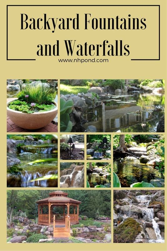 backyard fountains and waterfalls ponds backyardbackyard ideasgarden ideasgarden fountainswater