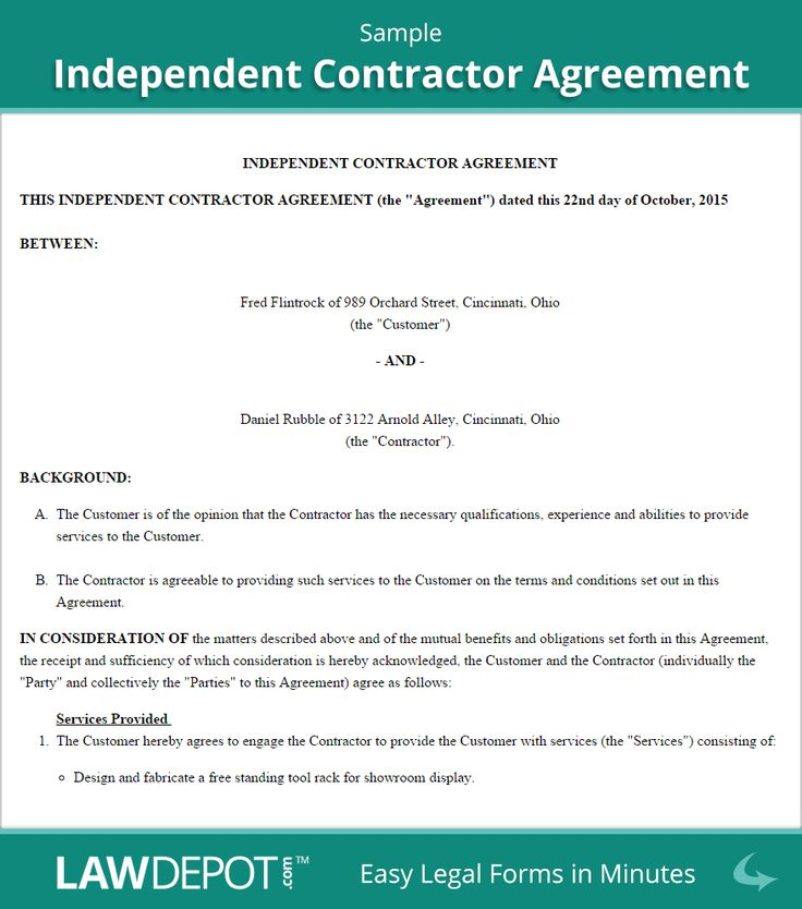 Use this free independent contractor agreement template with the terms, length, payment, and confidentiality details of the project. Free Independent Contractor Agreement Create Download And Print Throughout Freelance Trainer Agreement Contract Agreement Contract Template Contractor Contract