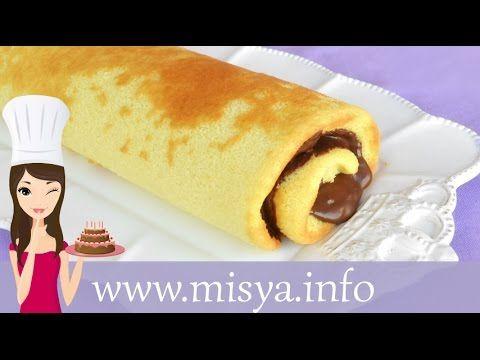 » Video ricetta rotolo alla nutella - Ricetta Video ricetta rotolo alla nutella di Misya