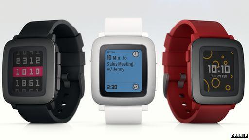 New Pebble watch - BBC News