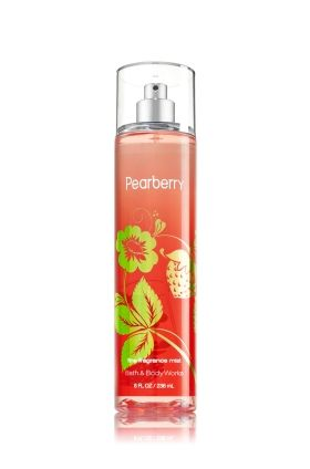 Pearberry - Fine Fragrance Mist - Signature Collection - Bath & Body Works - Lavishly splash or lightly spritz your favorite fragrance, either way you'll fall in love at first mist! Our carefully crafted bottle and sophisticated pump delivers great coverage while conditioning aloe mist nourishes skin for the lightest, most refreshing way to fragrance!