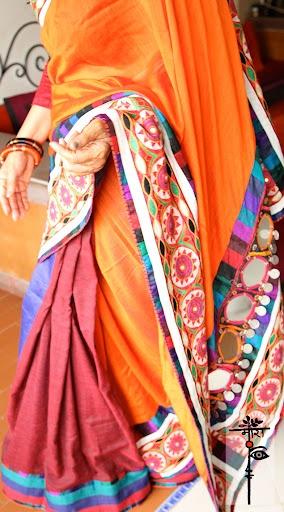 Gorgeous Indian textiles a'la Mora Style! MORA women in MORA 2012 IV - mora #Saree #india