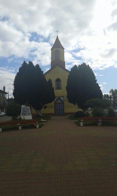 Iglesia nuestra señora del Rosario de maullin. Chile