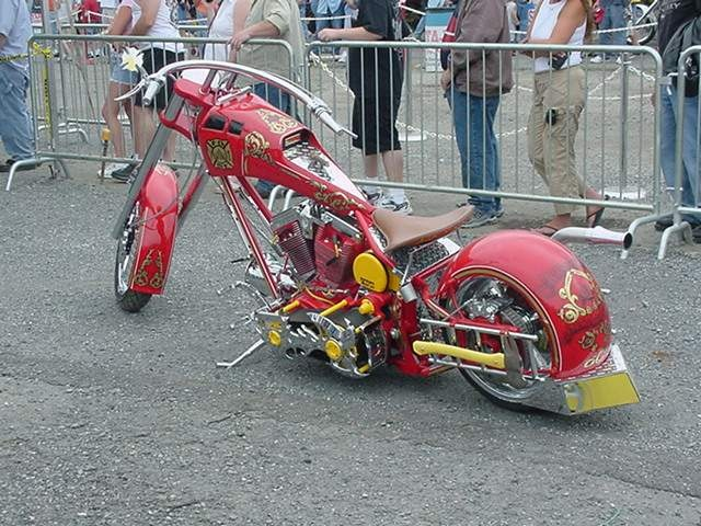 he Fire Bike is a custom theme bike built to honor NYC's greatest heroes (FDNY) and dedicated to New York City's Firefighters lost in September 11, 2001 (9/11) shared by NYC Firestore