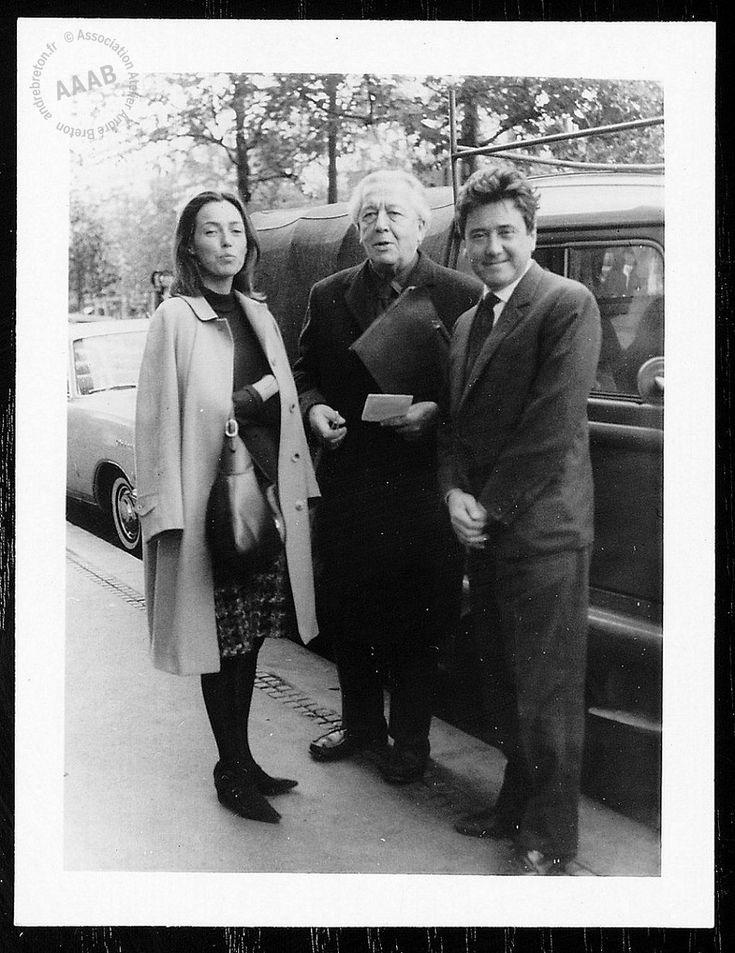 André Breton, Roberto Matta y Malitte Matta 1966