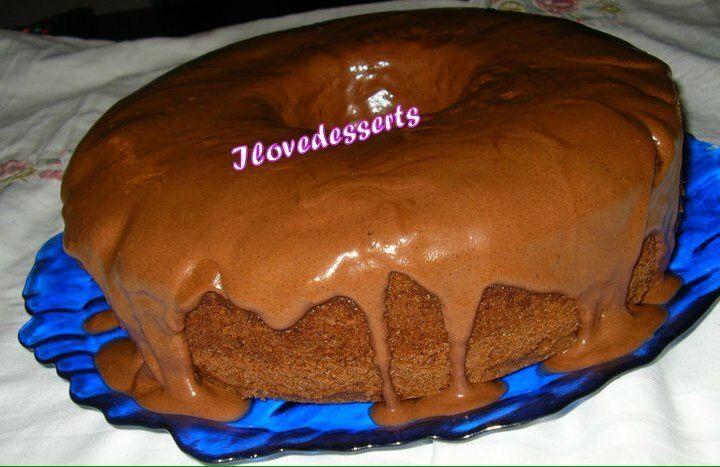 Chiffon cake al cioccolato- angel cake al cioccolato - fluffosa al cioccolato