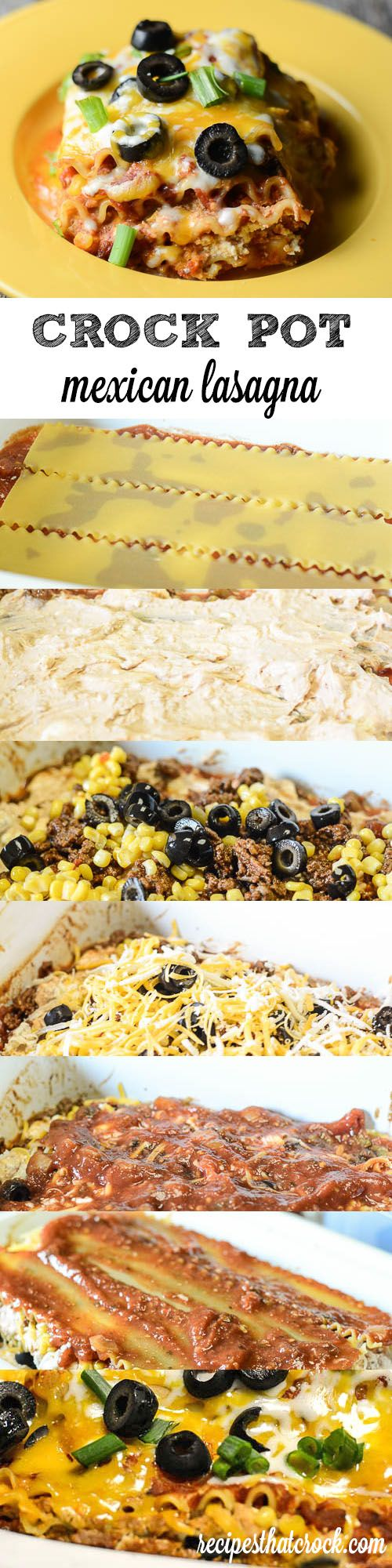 Crock Pot Mexican Lasagna: The perfect slow cooker dish for your next family…