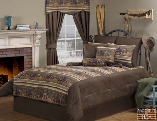 nevada western horse themed bedding by victor mill is made in the usa and is perfect - Niedliche Noble Schlafzimmerideen
