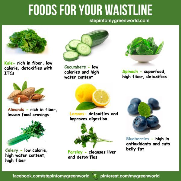 ☛ Foods to help you lose weight or for weight management. Most of them like Cucumbers, Celery and Spinach are low calories, high in fiber and water content. They will make you feel full fast and you will eat less. START NOW! CHECK OUR FLAT TUMMY SMOOTHIE RECIPE: http://www.stepintomygreenworld.com/greenliving/greenfoods/flat-tummy-smoothie/ ✒ Share | Like | Re-pin | Comment