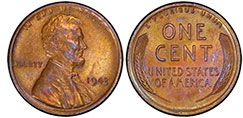 1943 copper Lincoln penny is one of the most sought-after coins—about 40 have been found. That year, the US Mint switched to making pennies from zinc-coated steel instead of 95% copper/5% zinc and tin, but by mistake some copper pennies still were made, and those may be worth $10,000 to $100,000, or even $1 million in pristine condition. Helpful: Hold a magnet up to your 1943 pennies. If any aren't attracted, you may have a very valuable find.