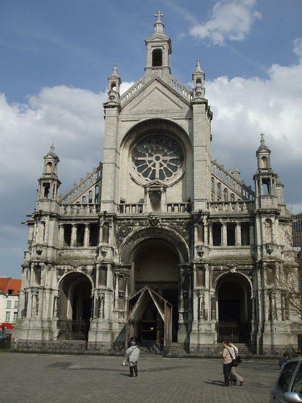 Iglesia Sainte Catherine, en centro de Bruselas
