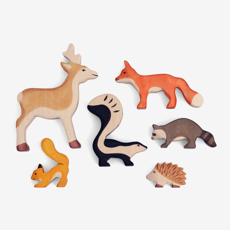 Woodland Animal Set - bitteshop.com