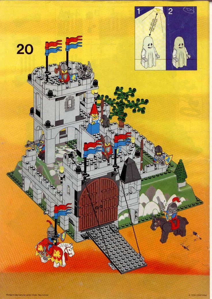castle kings mountain fortress lego 6081 diy. Black Bedroom Furniture Sets. Home Design Ideas