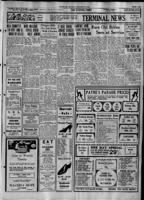 The Evening Times from Sayre, Pennsylvania on October 30, 1933 · Page 9