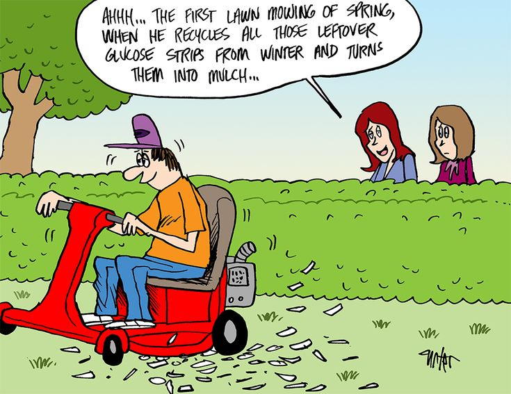 Mowing The Lawn Diabetes Style Click For More Diabetes
