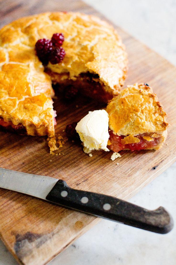 Apple and Mulberry Pie - Peony Lim