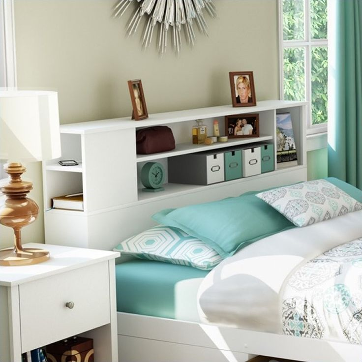 Queen Bookcase Headboards For Full Beds Modern Designs