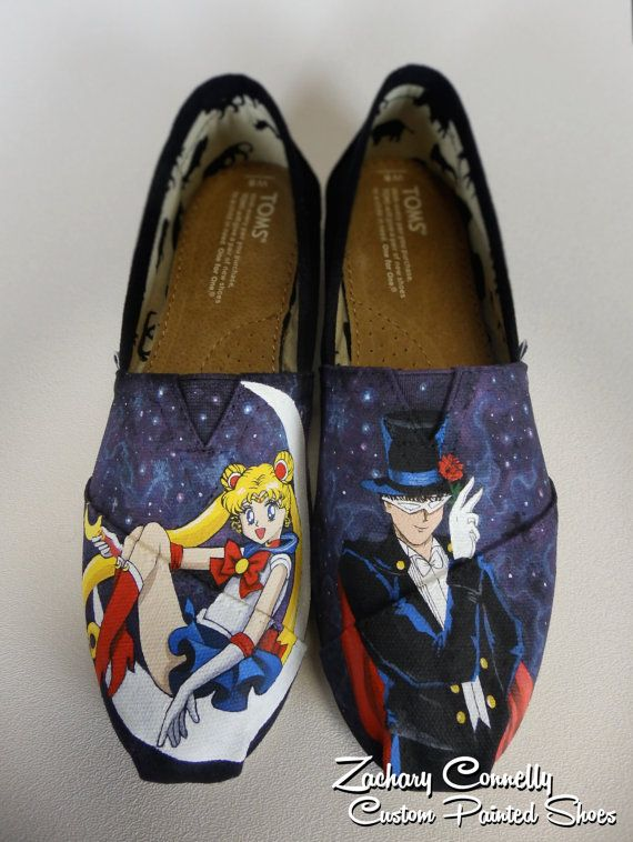 Sailor Moon Toms di ZacharyConnellyArt su Etsy