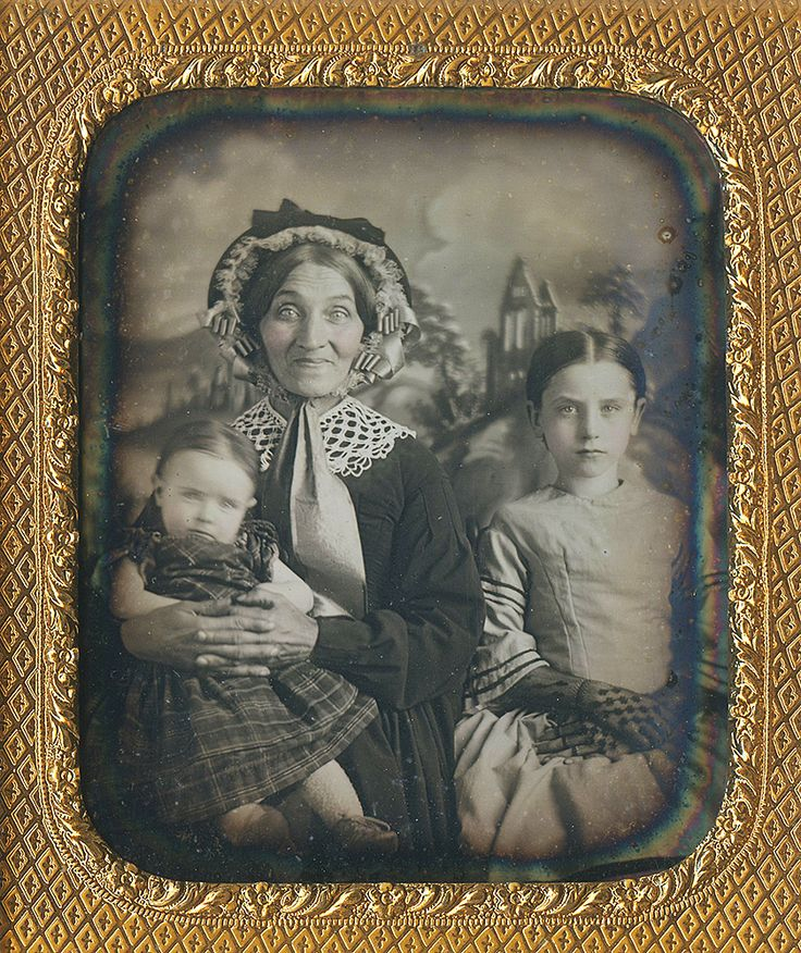 Sometimes, one's good humor cannot help but shine through... Dennis A. Waters Fine Daguerreotypes