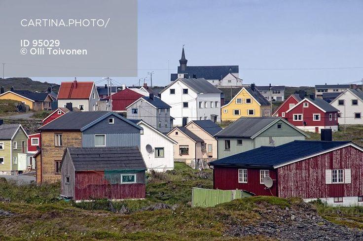 Gamvik (95029). asustus, finnmark, gamvik, kalastajakylä, kalotti, kylä, lappi, nordkyn, norja, rakennus, ruija, talo