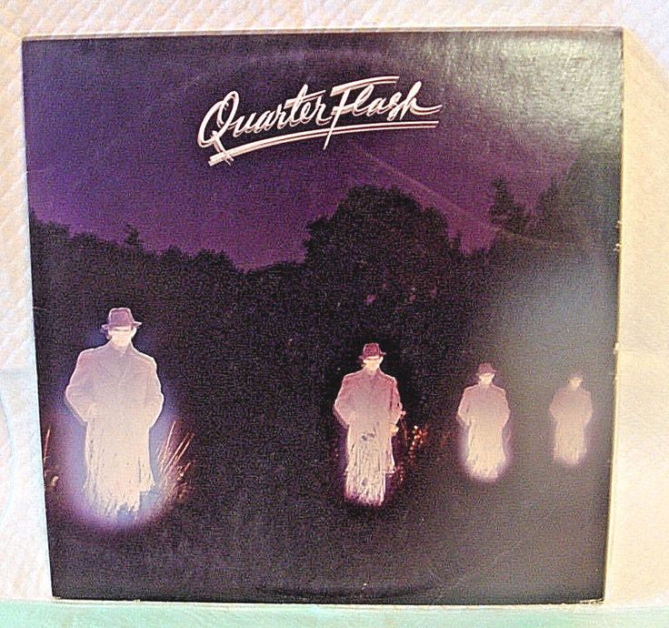 """QUARTER FLASH"" 1981 LP ALBUM-THE DAVID GEFFEN RECORDS/COMPANY GHS 2003"