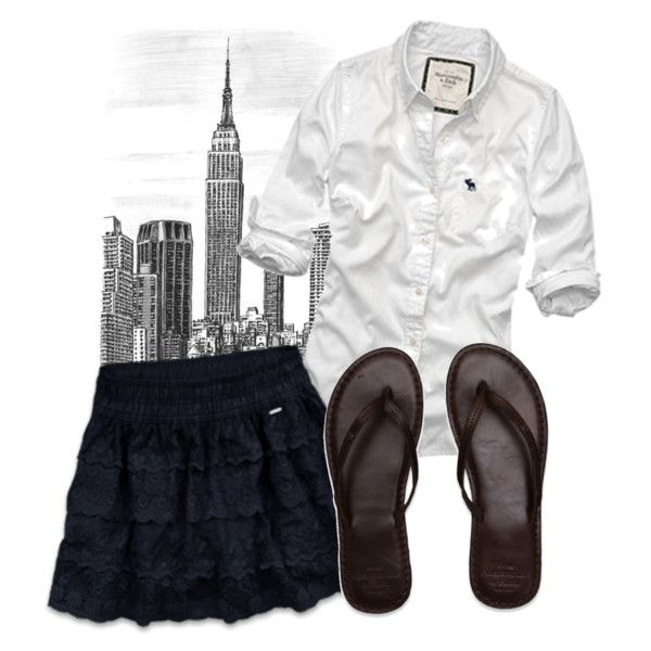 Abercrombie and fitch outfit - polyvore