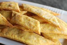 odor di pane: cracker di farina di ceci