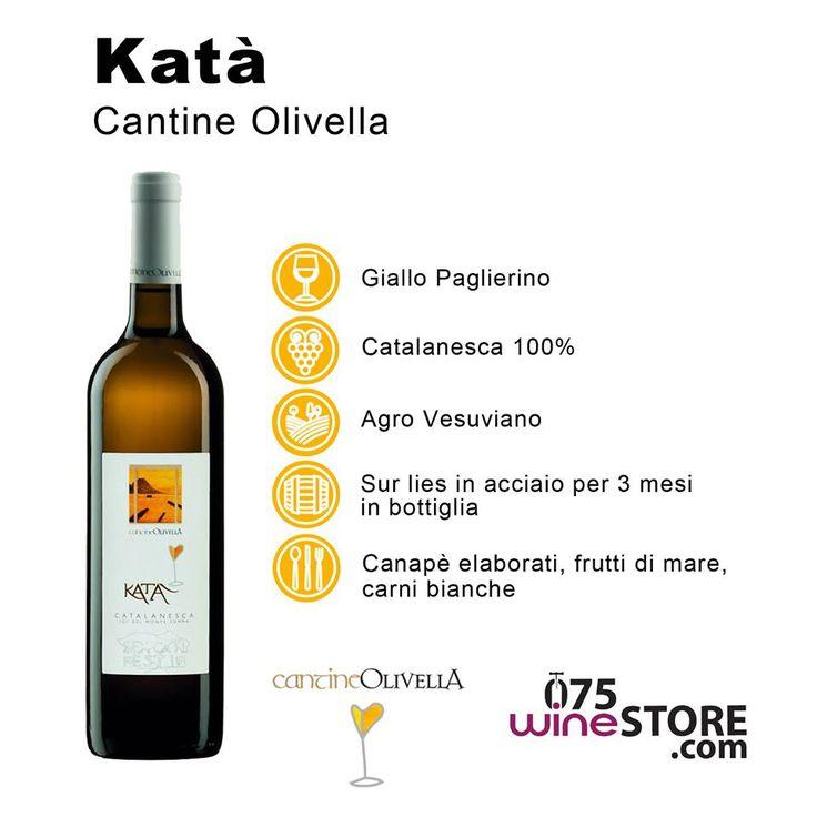 Una #Catalanesca del Monte Somma dal sapore inconfondibile di albicocca, sorbo, cantalupo, mandorla e da una marcata vena minerale che rispecchia la sua origine vulcanica. Sarà per questo che è uno dei nostri vini più venduti? http://www.075winestore.com/catalanesca-kata-cantine-olivella.html