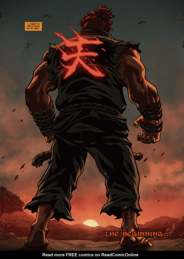 Street Fighter Origins: Akuma Full - Read Street Fighter Origins: Akuma Full…