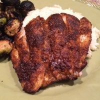 Grilled Blackened Grouper