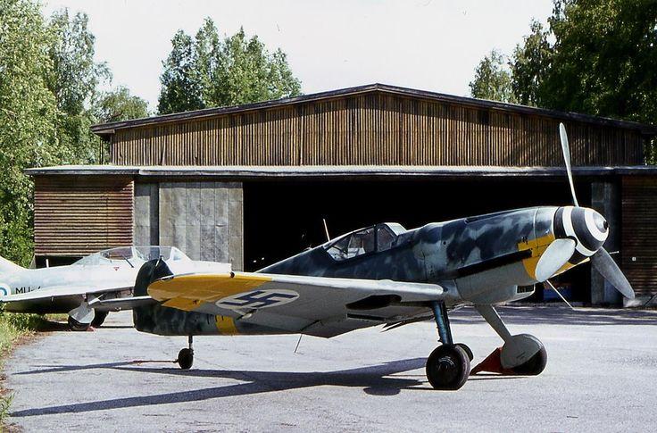 Finland - Air Force Messerschmitt Bf-109G-6.