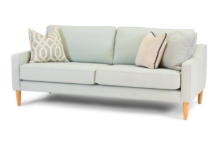 Malmo, an Australian made, bespoke sofa.  Have it made in your choice of fabric, and size.  See our extensive fabric library in store.   From Urban Rhythm, Melbourne urbanrhythm.com.au