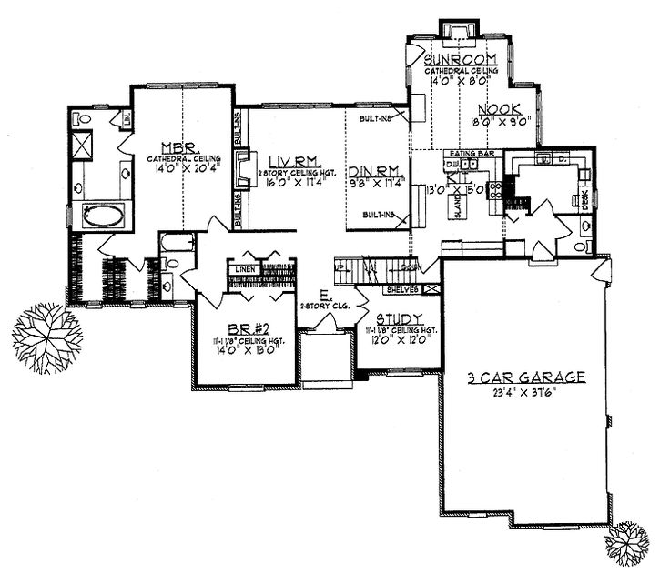 73 best images about dream home plans on pinterest 3 car for 3 car garage cost per square foot