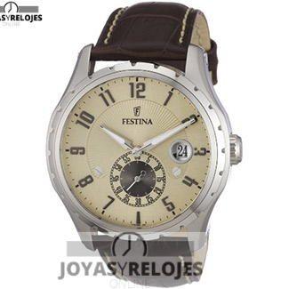 ⬆️😍✅ FESTINA F16486/2 😍⬆️✅ Colosal Modelo perteneciente a la Colección de RELOJES FESTINA ➡️ PRECIO 84.55 € Disponible en 😍 https://www.joyasyrelojesonline.es/producto/festina-f164862-reloj-de-caballero-de-cuarzo-correa-de-piel-color-marron/ 😍 ¡¡Corre que vuelan!! #Relojes #RelojesFestina #Festina