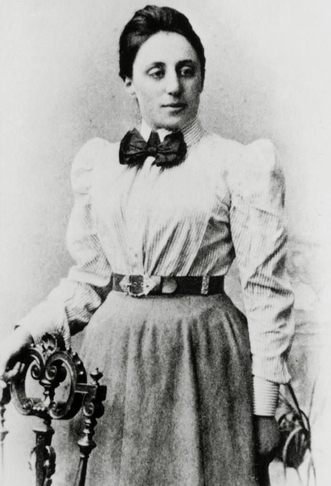 Emmy Noether was a German Jewish mathematician known for her landmark contributions to abstract algebra and theoretical physics.