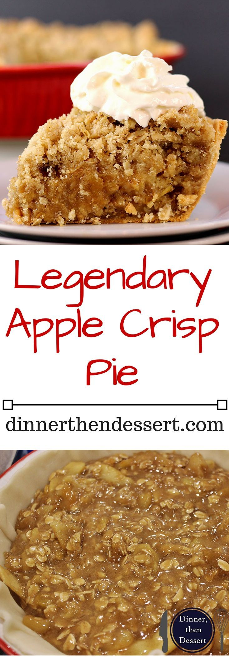 17 best ideas about apple crisp pie on pinterest apple for Best dessert recipes in the world