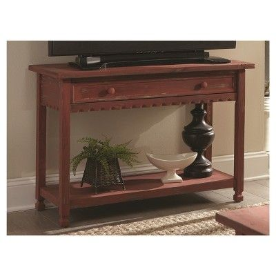 Console Table Red, Console Table
