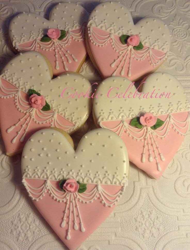 Rose Hearts | Cookie Connection