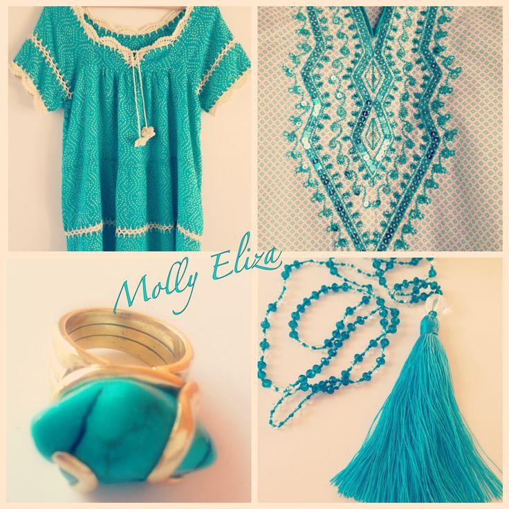 Turquoise Temptations!  By Molly & Eliza.  Follow us on instagram  - mollyandeliza