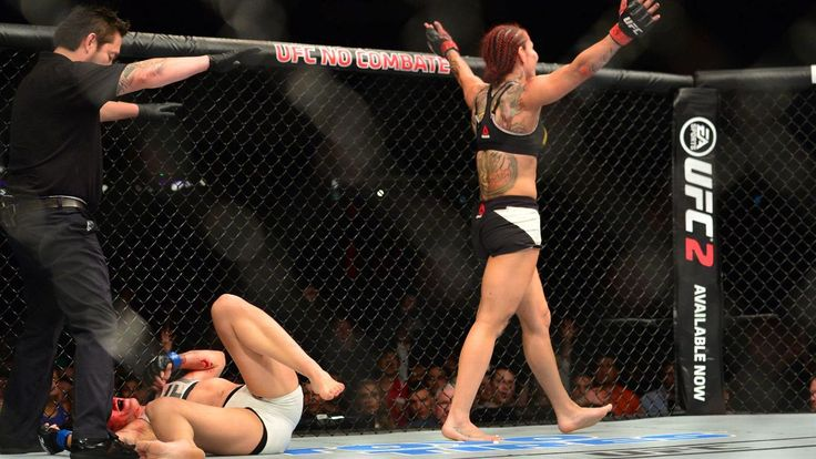 "Cris ""Cyborg"" Justino demolishes Lina Lansberg at UFC Fight Night"