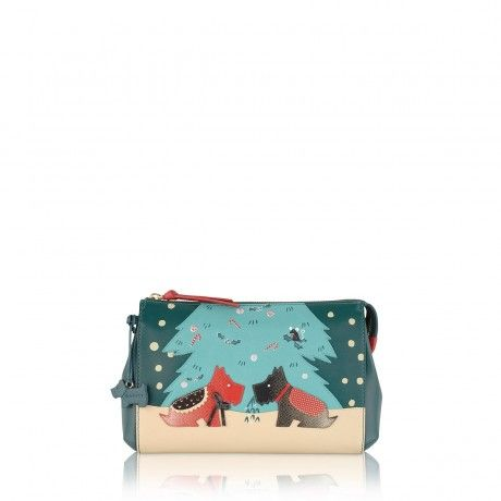 Under The Mistletoe, Medium Zip-top Clutch